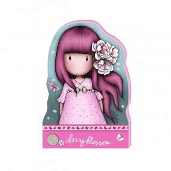 Mały Notes - Gorjuss Sparkle & Bloom - Cherry Blossom