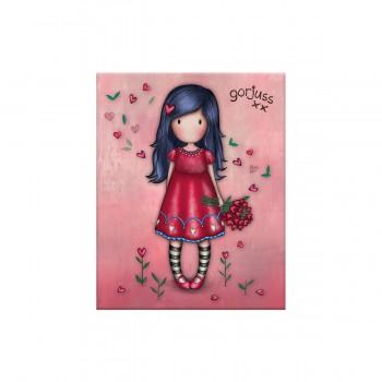 Karteczki Samoprzylepne - Gorjuss Sparkle & Bloom - Love Grows
