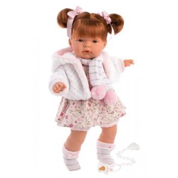 Hiszpańska lalka dziewczynka Kate 38cm - płacząca