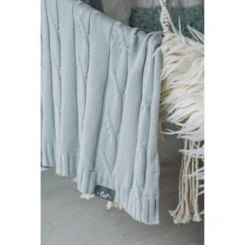 Kocyk Bambusowy z Jonami Srebra (Warkocz Srebrzysty)