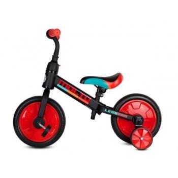 Rowerek biegowy Molto Leggero z opcją + pedały + kółka boczne