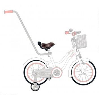"""Rowerek dla dzieci 12"""" Heart bike - biało - morelowy"""