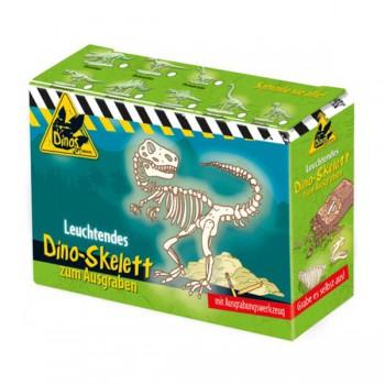 Wykopaliska, Świecący szkielet Dinozaura, Zestaw