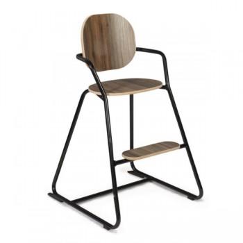 Charlie Crane Krzesełko do karmienia Tibu orzech