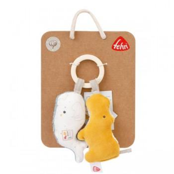 Zabawka do rączki - drewniany chwytak, z kolekcji: