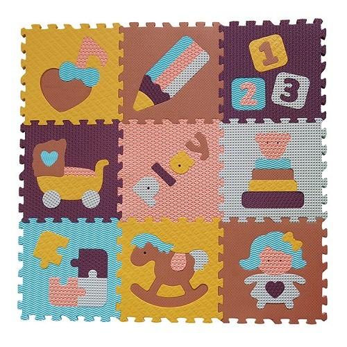 Piankowe puzzle podłogowe Świat Zabawek – 51 elementów