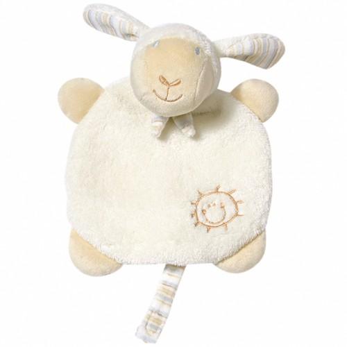 Pierwsza przytulanka z uchwytem na smoczek , Owieczka, z kolekcji: Kochaj Mnie