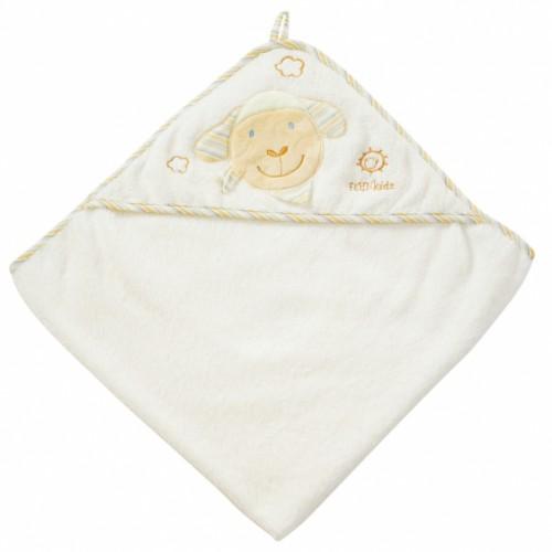Ręcznik z kapturem Owieczka, z kolekcji: Kochaj Mnie
